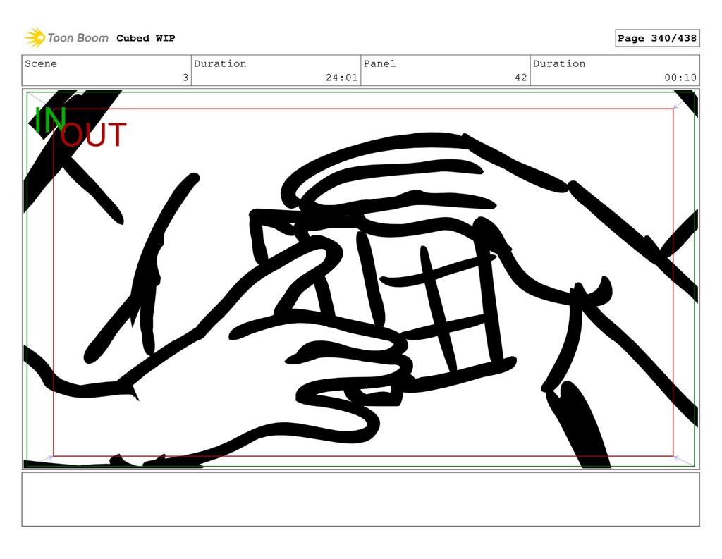 Scene 3 Duration 24:01 Panel 42 Duration 00:10 ...
