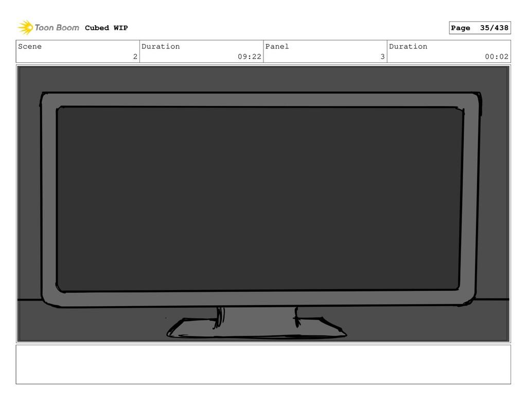 Scene 2 Duration 09:22 Panel 3 Duration 00:02 C...