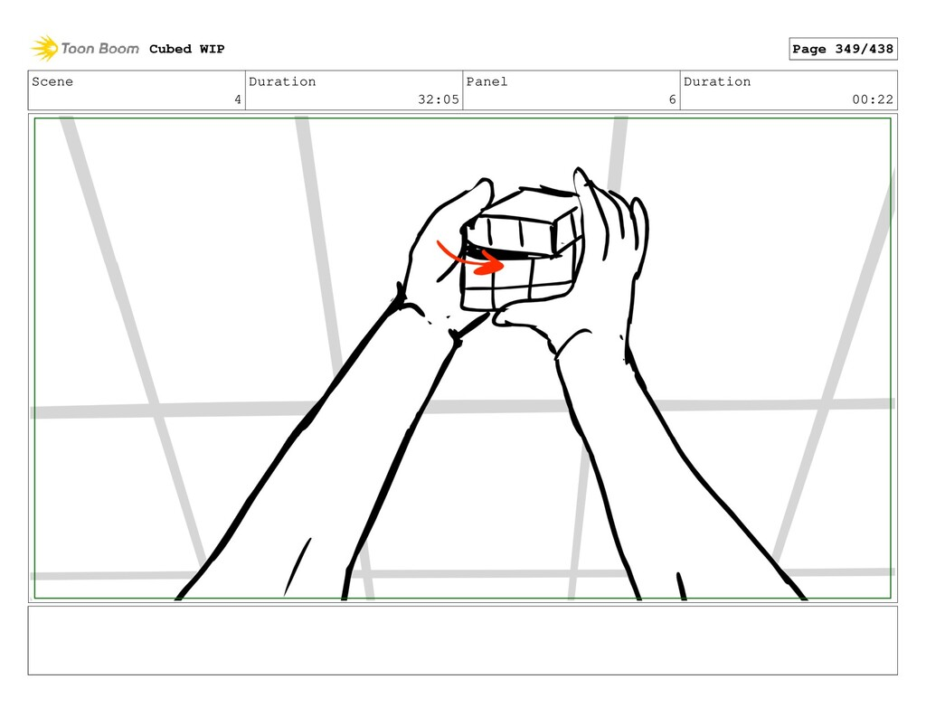 Scene 4 Duration 32:05 Panel 6 Duration 00:22 C...