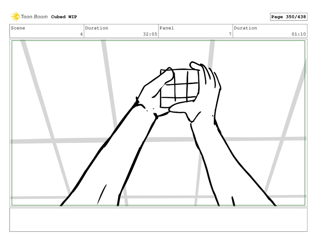 Scene 4 Duration 32:05 Panel 7 Duration 01:10 C...
