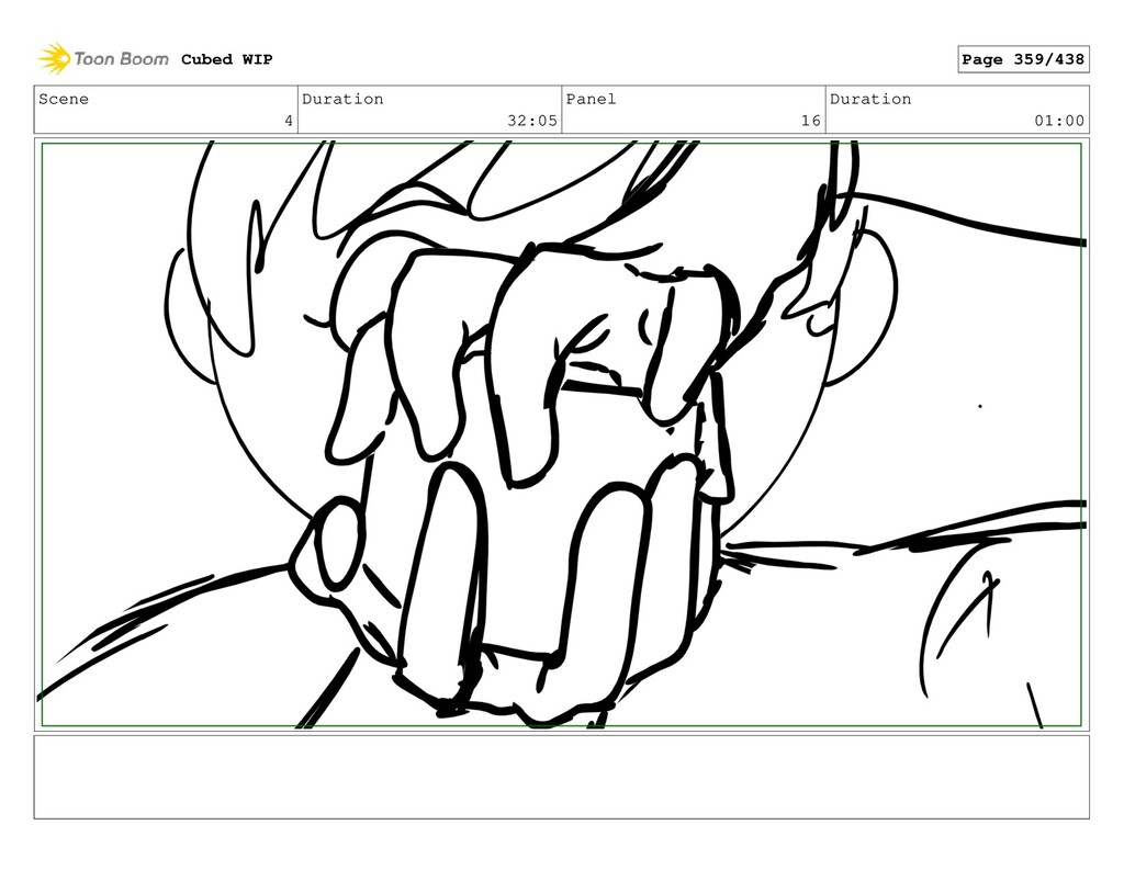 Scene 4 Duration 32:05 Panel 16 Duration 01:00 ...