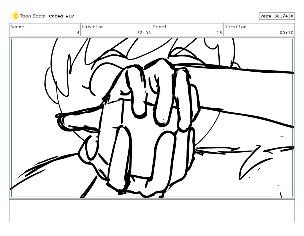 Scene 4 Duration 32:05 Panel 18 Duration 00:10 ...