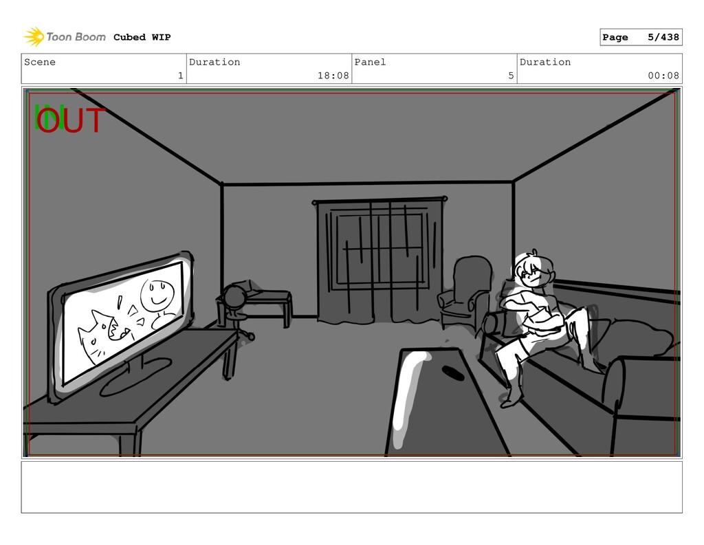 Scene 1 Duration 18:08 Panel 5 Duration 00:08 C...