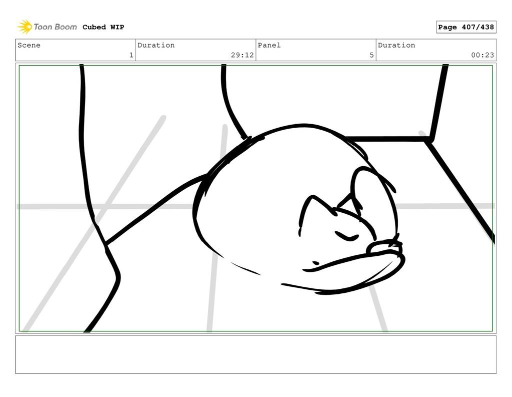 Scene 1 Duration 29:12 Panel 5 Duration 00:23 C...