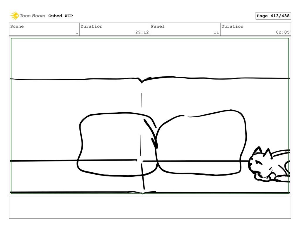 Scene 1 Duration 29:12 Panel 11 Duration 02:05 ...