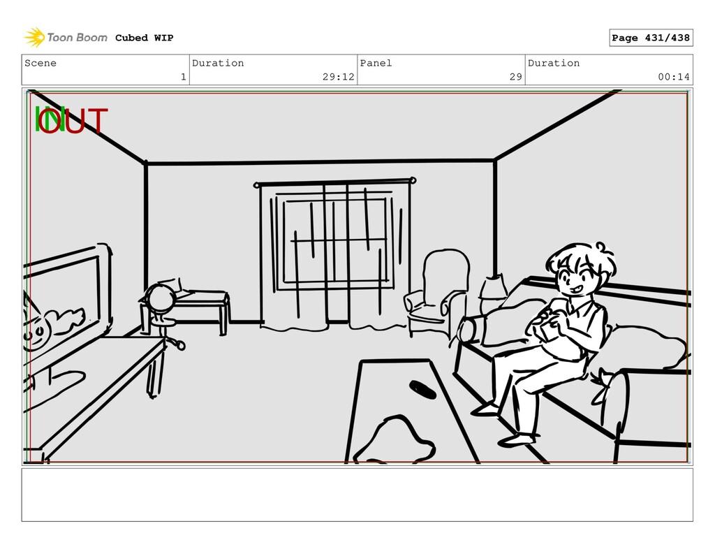 Scene 1 Duration 29:12 Panel 29 Duration 00:14 ...