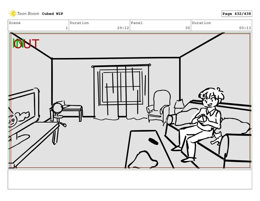 Scene 1 Duration 29:12 Panel 30 Duration 00:13 ...