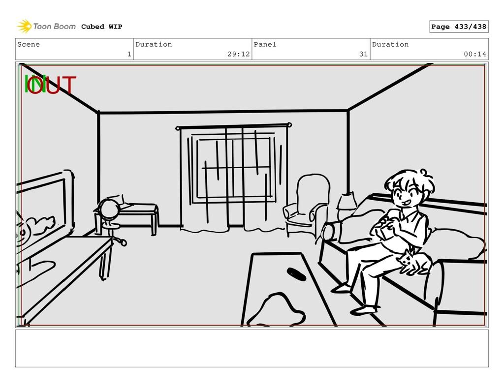 Scene 1 Duration 29:12 Panel 31 Duration 00:14 ...