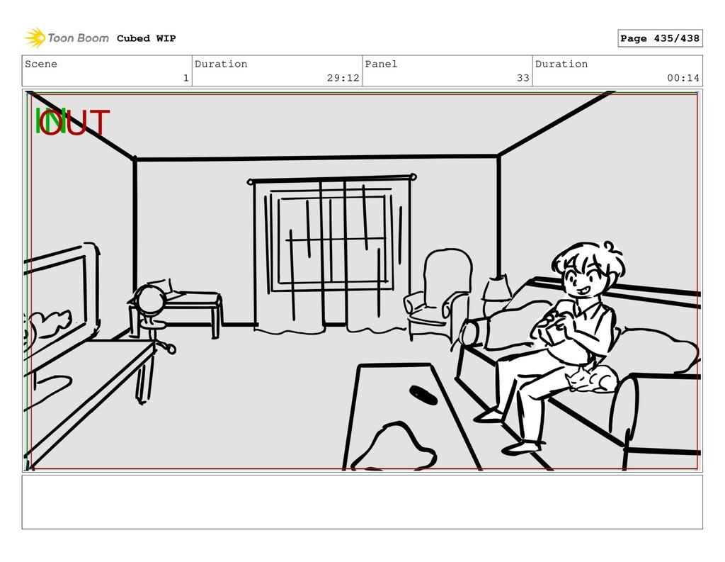 Scene 1 Duration 29:12 Panel 33 Duration 00:14 ...