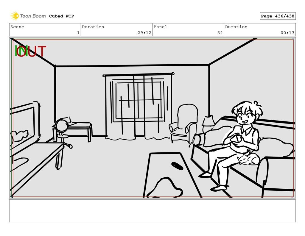 Scene 1 Duration 29:12 Panel 34 Duration 00:13 ...