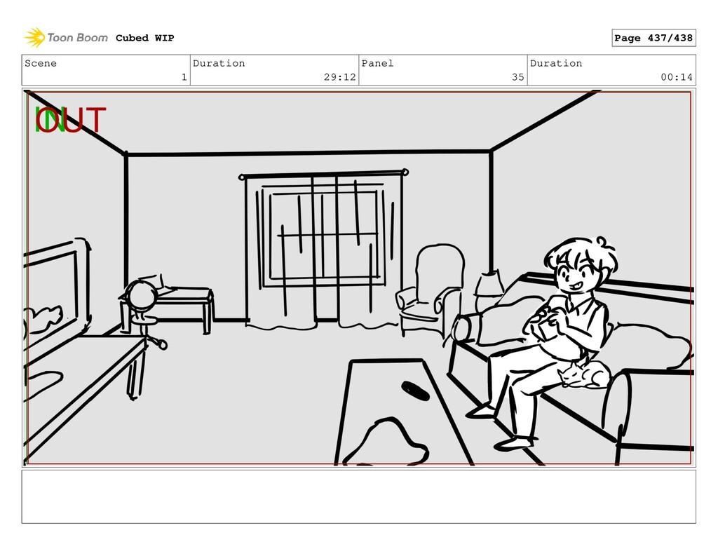 Scene 1 Duration 29:12 Panel 35 Duration 00:14 ...