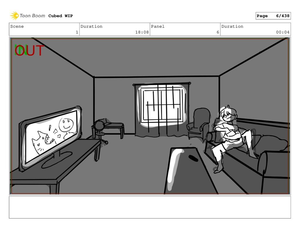 Scene 1 Duration 18:08 Panel 6 Duration 00:04 C...