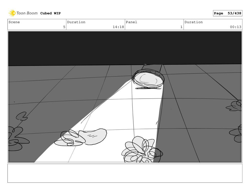 Scene 5 Duration 14:18 Panel 1 Duration 00:13 C...
