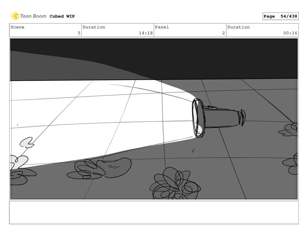 Scene 5 Duration 14:18 Panel 2 Duration 00:16 C...