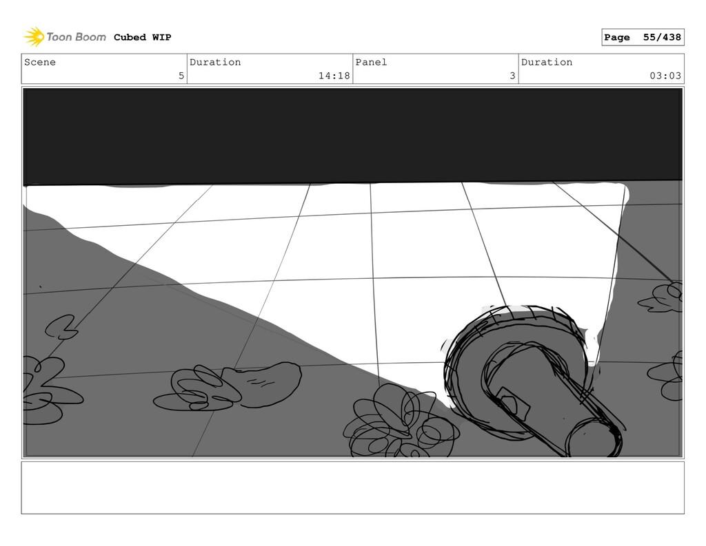 Scene 5 Duration 14:18 Panel 3 Duration 03:03 C...