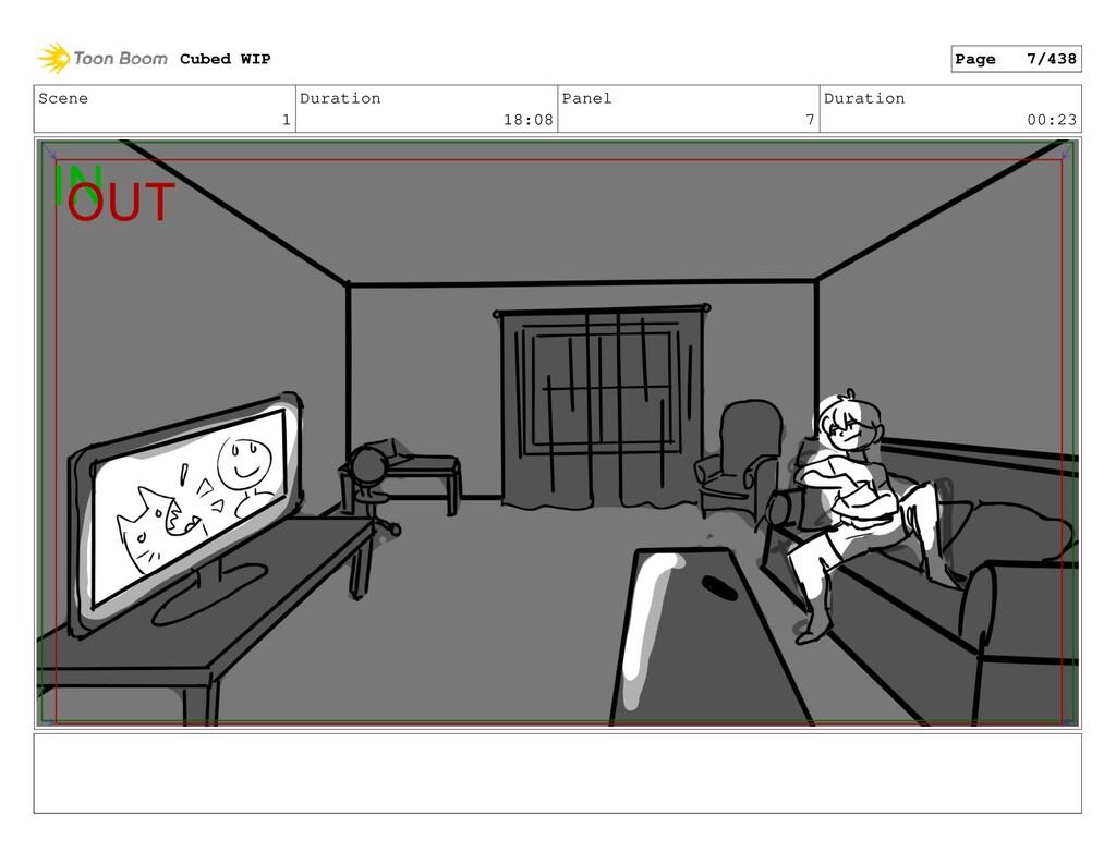 Scene 1 Duration 18:08 Panel 7 Duration 00:23 C...