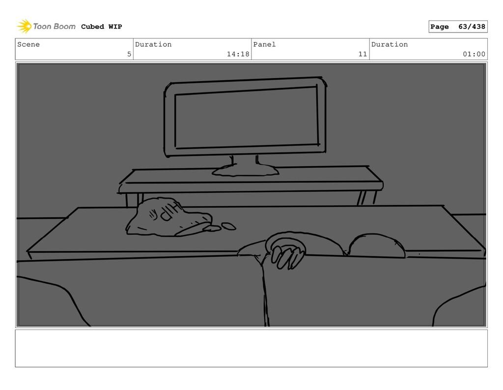 Scene 5 Duration 14:18 Panel 11 Duration 01:00 ...
