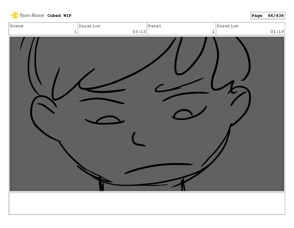 Scene 1 Duration 03:13 Panel 1 Duration 01:19 C...