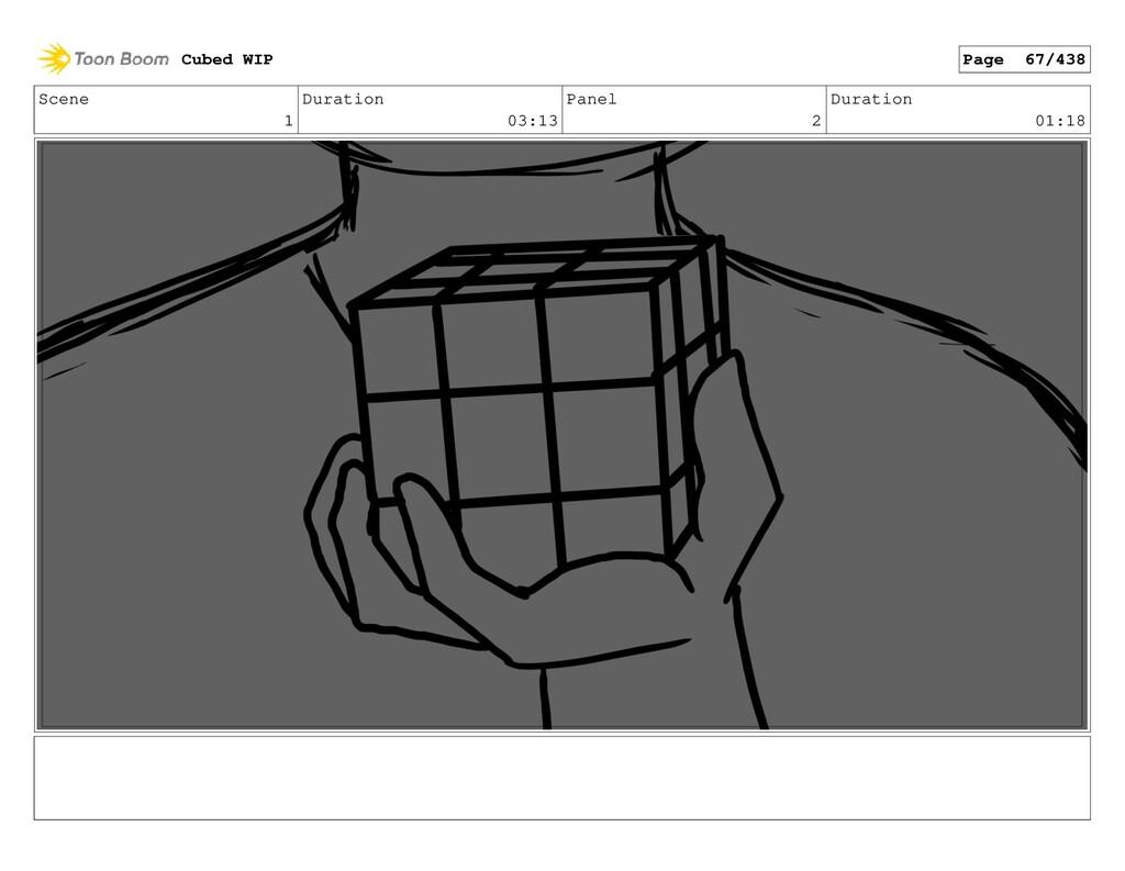 Scene 1 Duration 03:13 Panel 2 Duration 01:18 C...