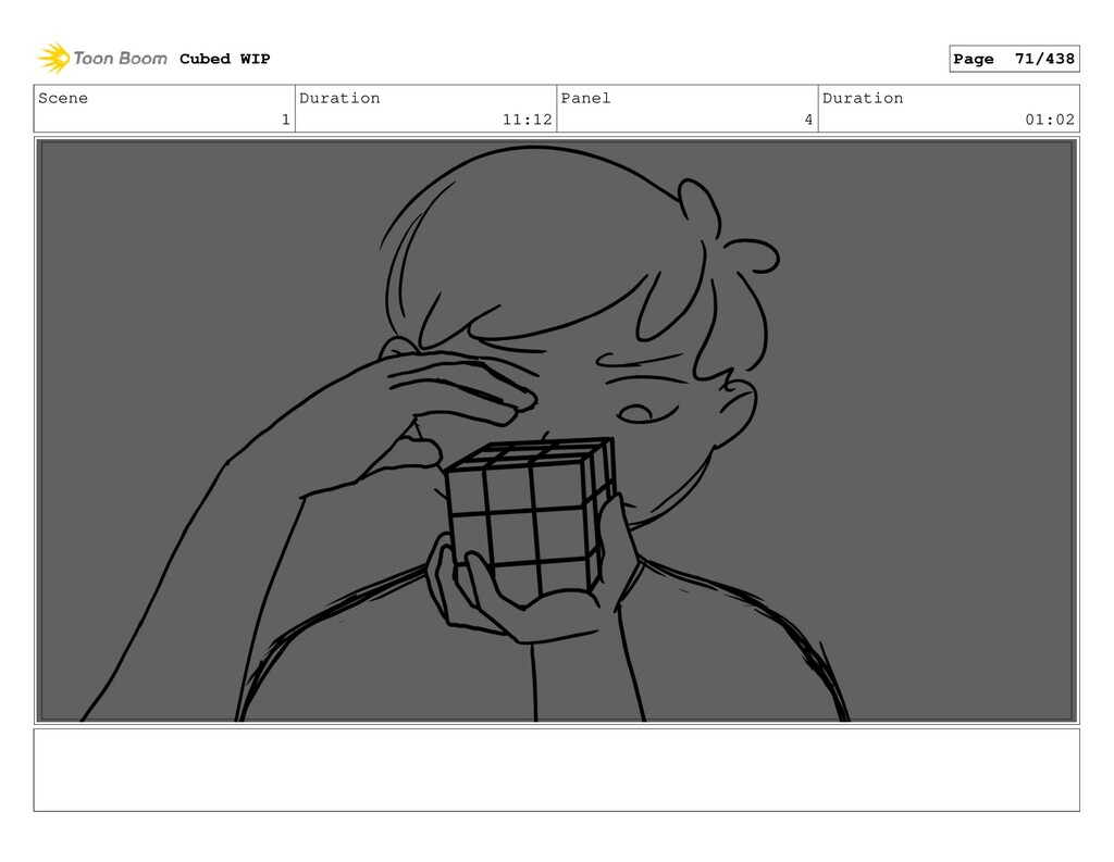 Scene 1 Duration 11:12 Panel 4 Duration 01:02 C...