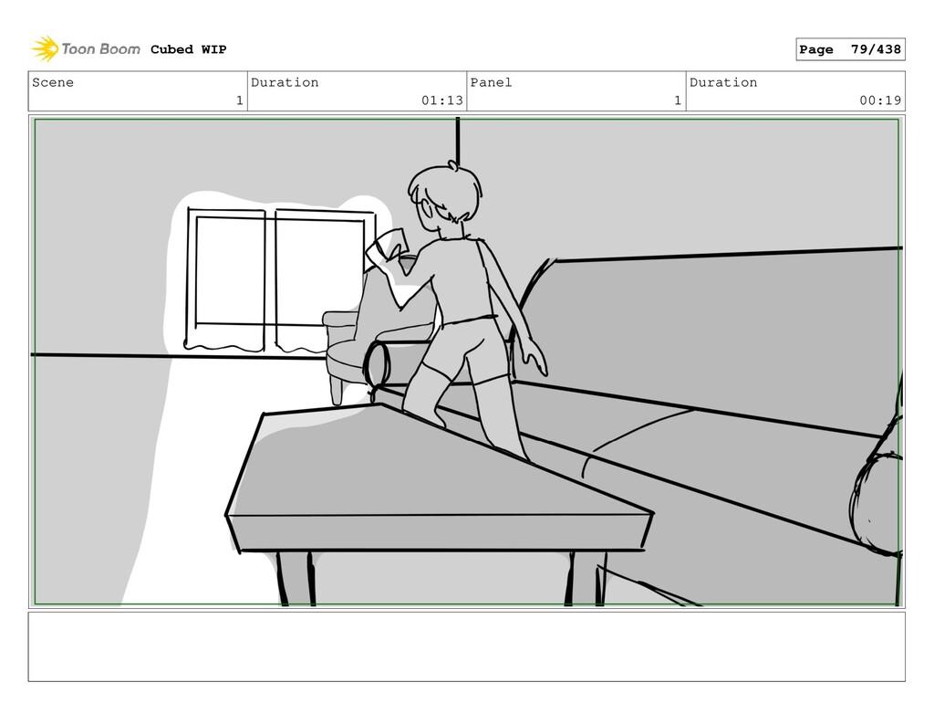 Scene 1 Duration 01:13 Panel 1 Duration 00:19 C...