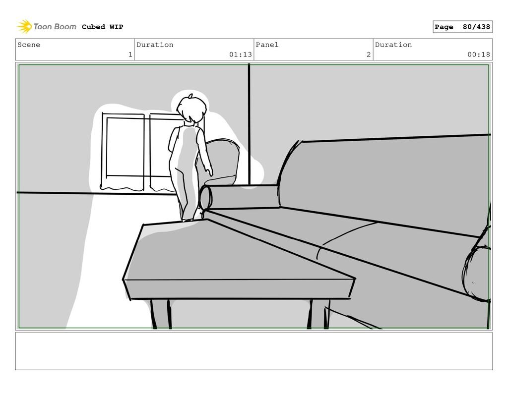 Scene 1 Duration 01:13 Panel 2 Duration 00:18 C...