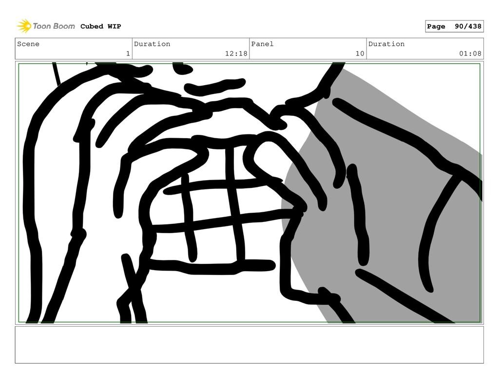 Scene 1 Duration 12:18 Panel 10 Duration 01:08 ...