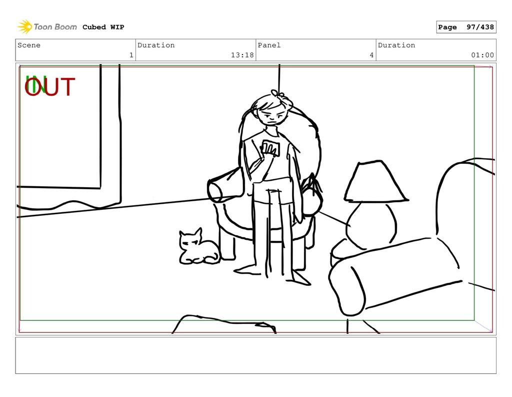 Scene 1 Duration 13:18 Panel 4 Duration 01:00 C...