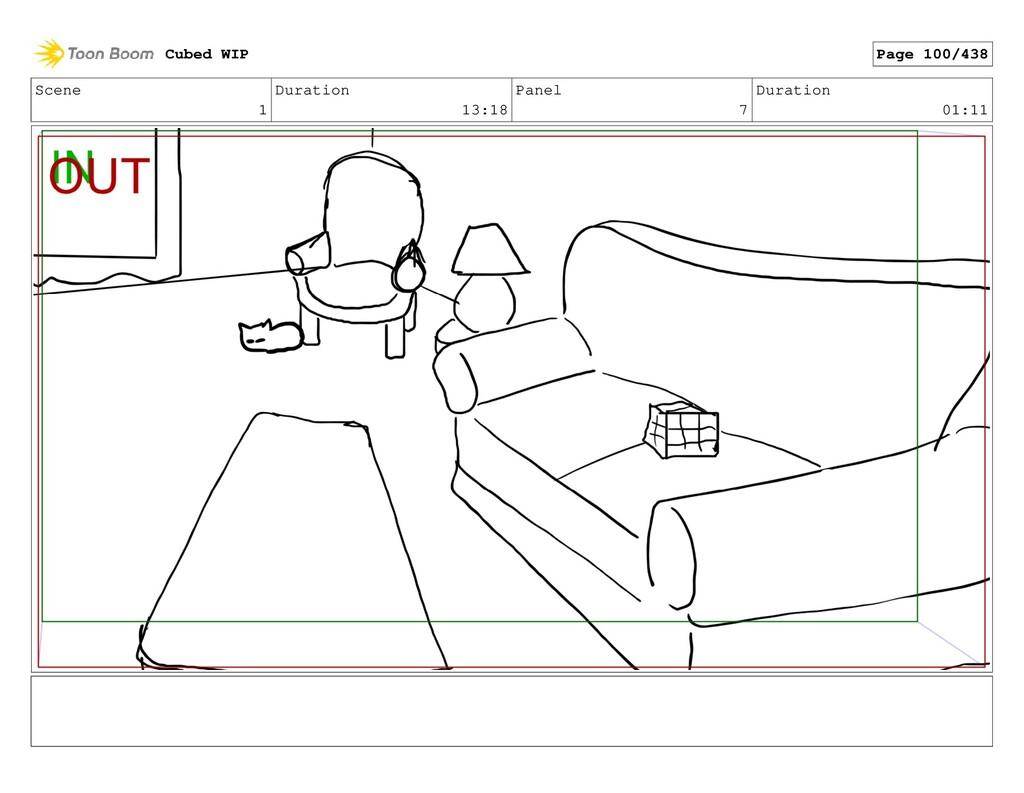 Scene 1 Duration 13:18 Panel 7 Duration 01:11 C...
