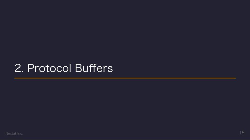2. Protocol Buffers Nextat Inc. 15