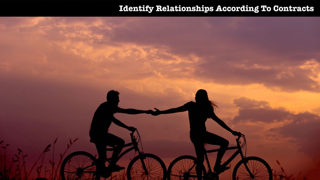 Identify Relationships According To Contracts