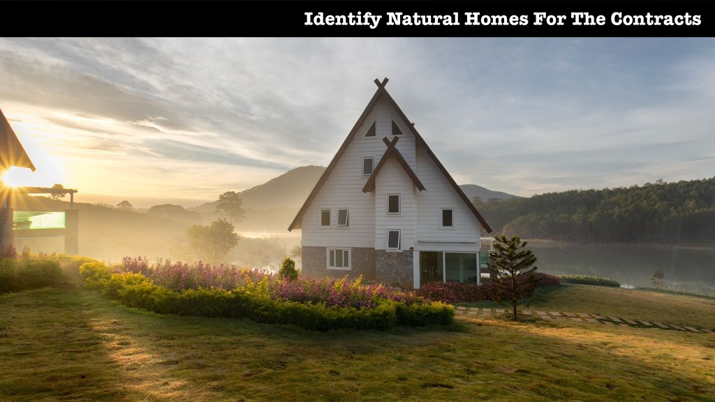 Identify Natural Homes For The Contracts