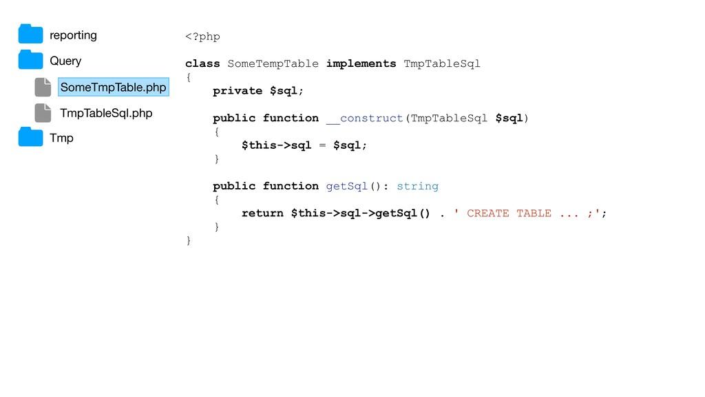 <?php class SomeTempTable implements TmpTableSq...