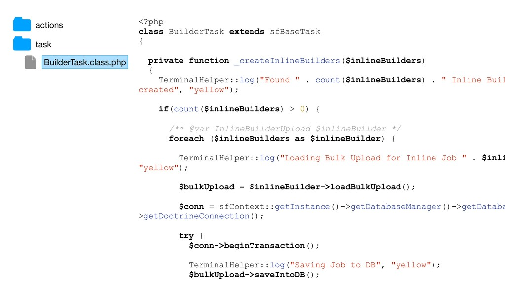 BuilderTask.class.php task <?php class BuilderT...