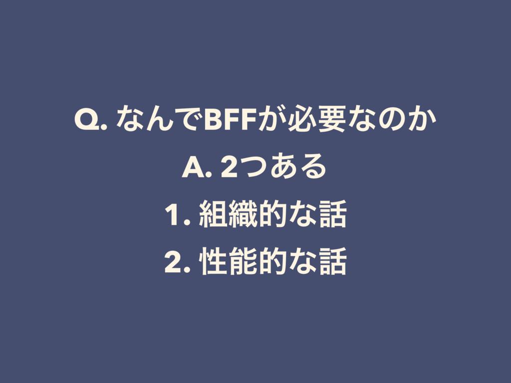 Q. ͳΜͰBFF͕ඞཁͳͷ͔ A. 2ͭ͋Δ 1. ৫తͳ 2. ੑతͳ