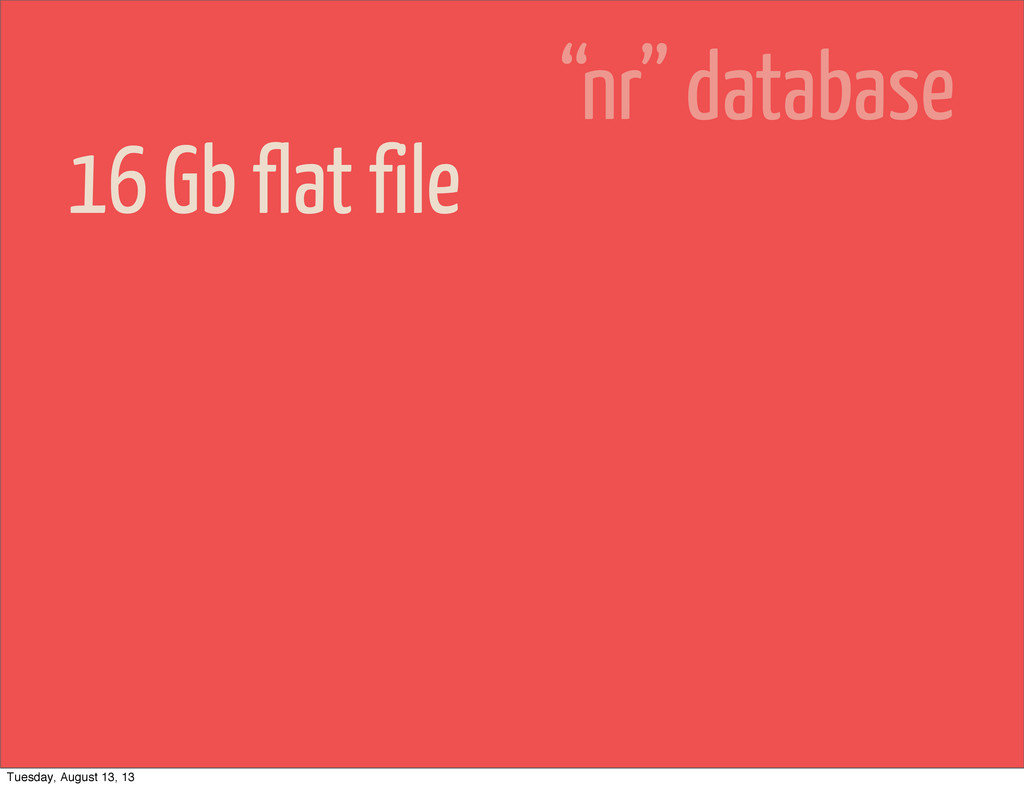 """16 Gb flat file """"nr"""" database Tuesday, August 1..."""