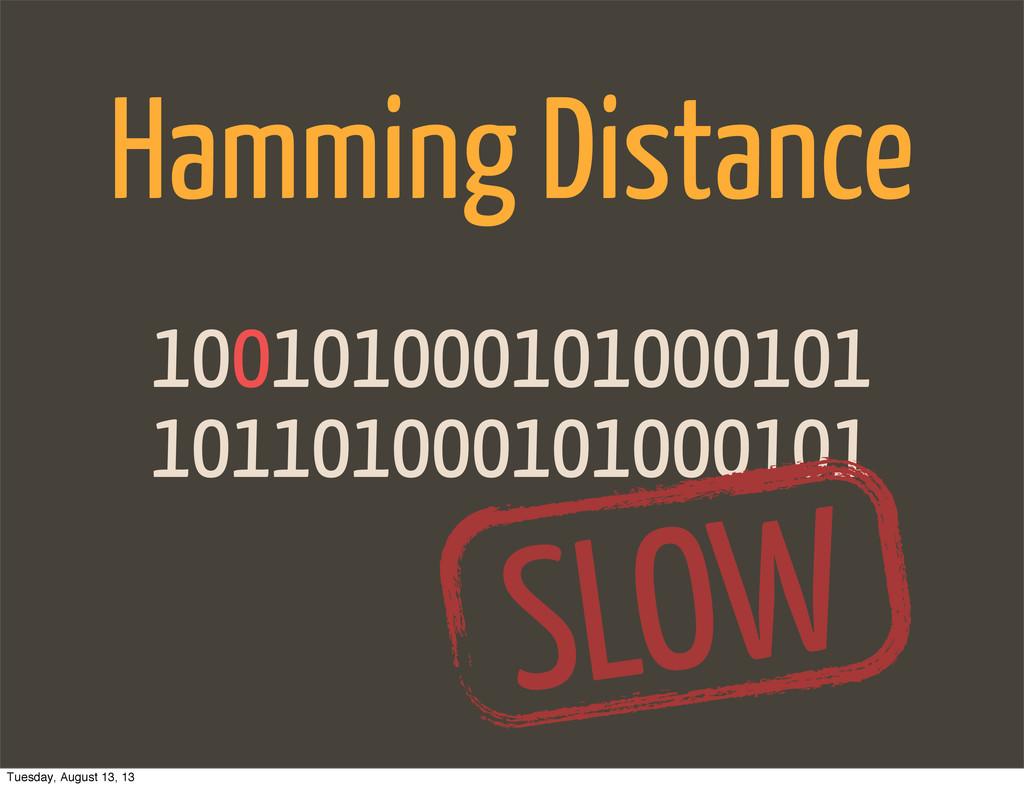 101101000101000101 100101000101000101 Hamming D...
