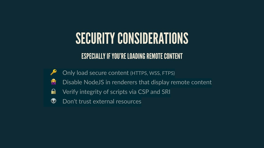 Only load secure content (HTTPS, WSS, FTPS)  D...
