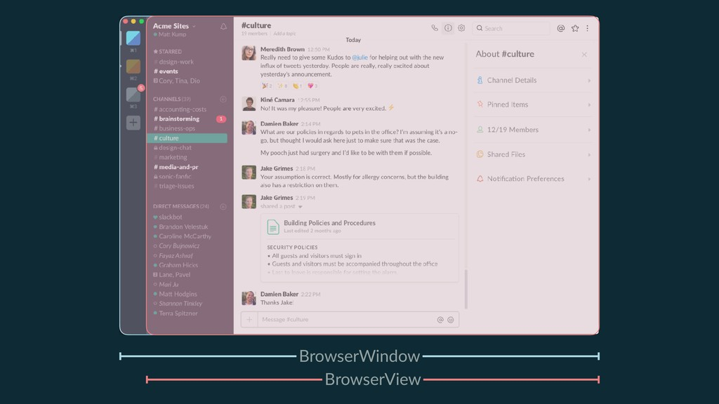 BrowserWindow BrowserView