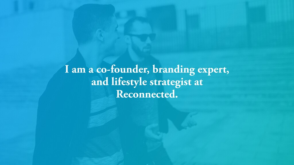 I am a co-founder, branding expert, and lifesty...