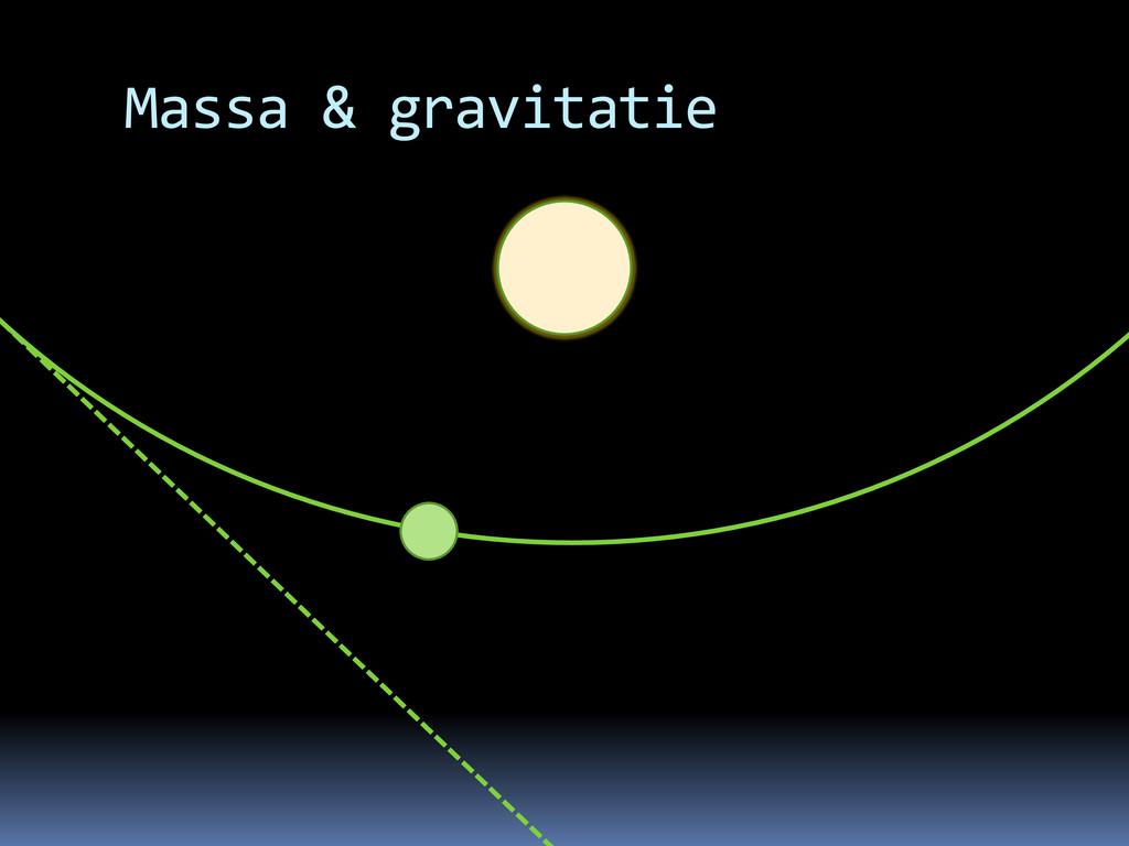 Massa & gravitatie