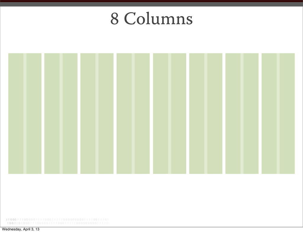 8 Columns Wednesday, April 3, 13