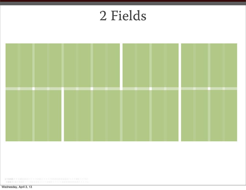 2 Fields Wednesday, April 3, 13