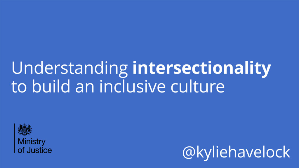 Understanding intersectionality to build an inc...
