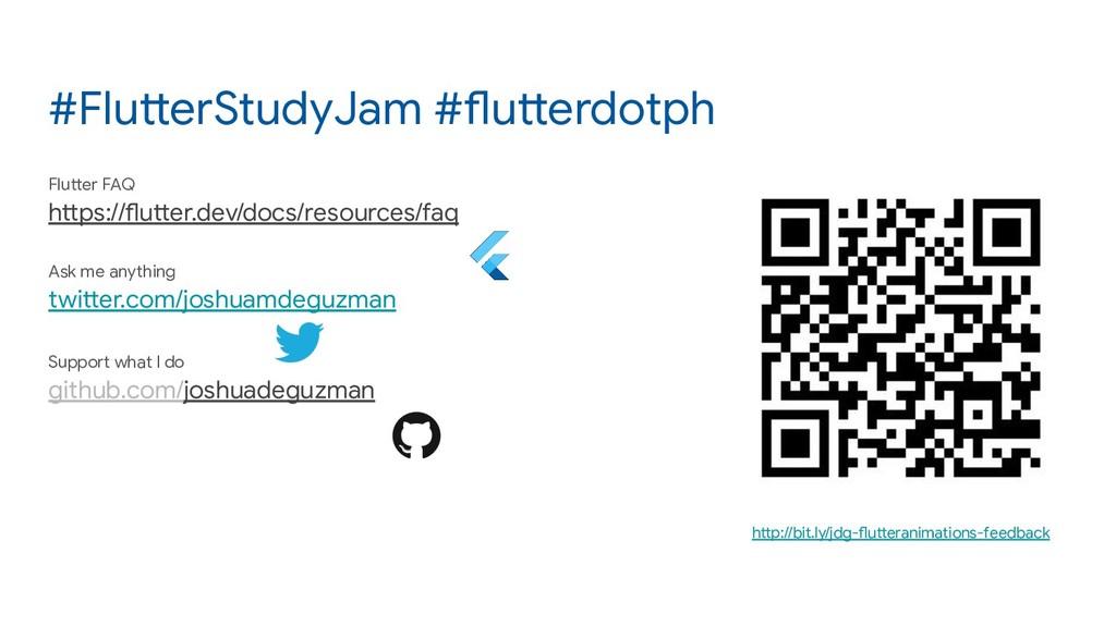 #FlutterStudyJam #flutterdotph Flutter FAQ http...