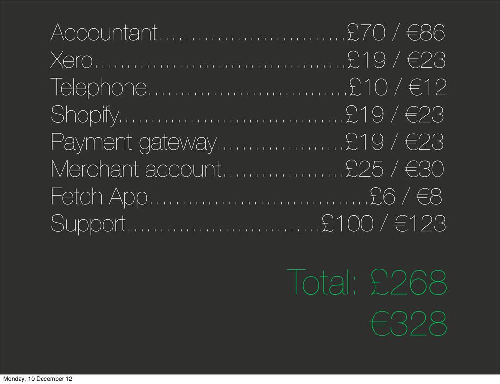 Accountant.............................£70 / €8...