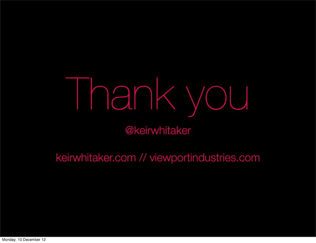 Thank you @keirwhitaker keirwhitaker.com // vie...