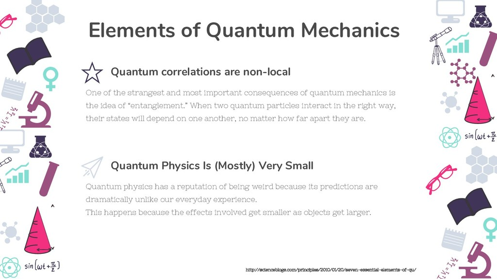 Quantum physics has a reputation of being weird...