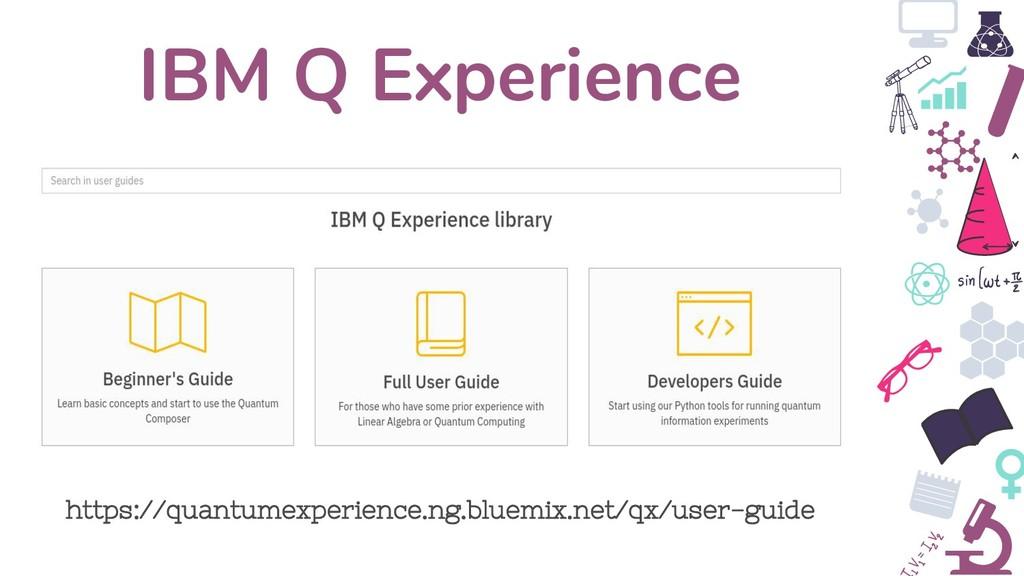 IBM Q Experience https://quantumexperience.ng.b...