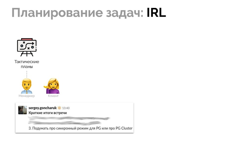 Планирование задач: IRL Планирование задач: IRL...